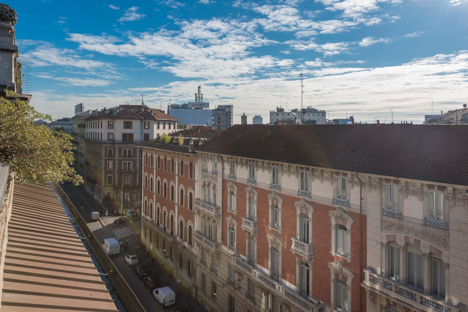 Attico con terrazzo in Piazza Virgilio
